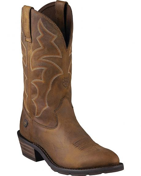 Ariat Ironside Cowboy Boots - Round Toe