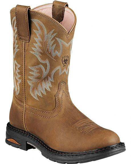 Ariat Tracey Pull-On Work Boots - Comp Toe