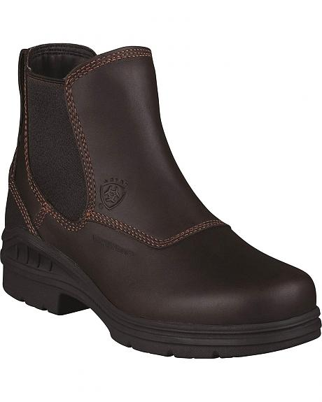 Ariat Waterproof Twin Gore Work Boots - Round Toe