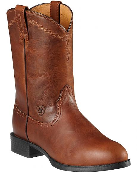 Ariat Heritage Roper Boots - Round Toe
