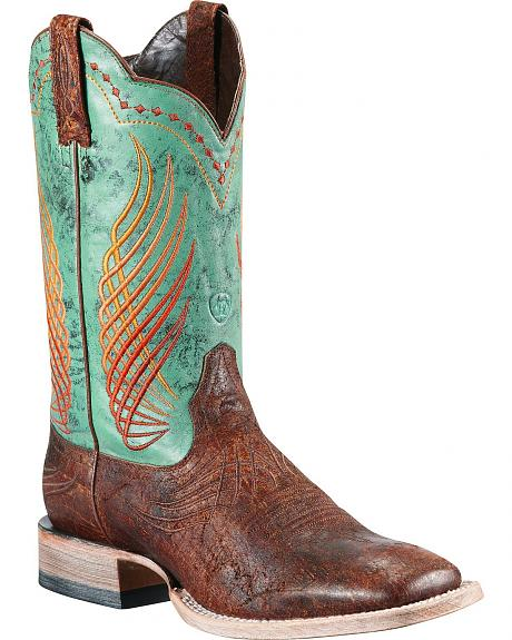 Ariat Mecate Cowboy Boots - Square Toe