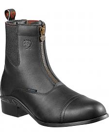 Ariat Heritage Waterproof Paddock Zip-Up Boots - Round Toe