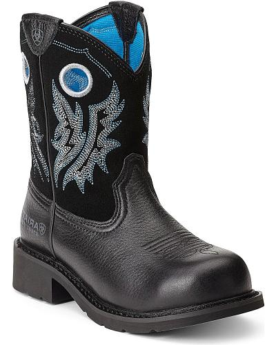 Ariat Fatbaby Cowgirl Boots Steel Toe Western & Country 10012812