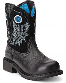 Ariat Fatbaby Cowgirl Boots - Steel Toe