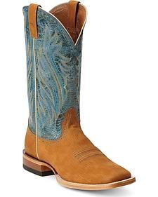 Ariat Ranchero Razor Cowboy Boots - Square Toe