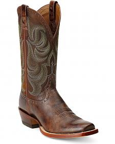 Ariat Turnback Cowboy Boots - Square Toe