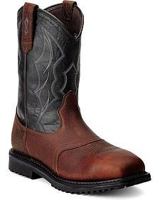 Ariat RigTek Waterproof Work Boots - Composition Toe