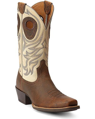 Ariat Razorback Cowboy Boots Square Toe Western & Country 10012775