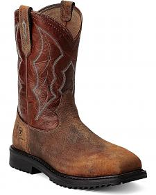 Ariat RigTek Pull-On Work Boots - Composition Toe