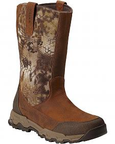 Ariat FPS Kryptek Waterproof Pull-On Hunting Boots - Round Toe