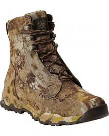 "Ariat FPS Kryptek Waterproof & Insulated 7"" Lace-Up Hunting Boots - Round Toe"