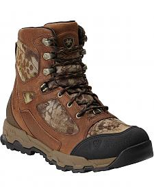 Ariat Buckshot Kryptek Waterproof & Insulated Lace-Up Hunting Boots - Round Toe