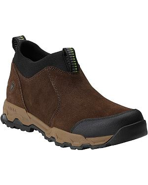 Ariat Access Waterproof Slip-On Hiking Shoes - Round Toe