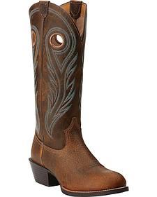 Ariat Sport Buckaroo Cowboy Boots - Round Toe