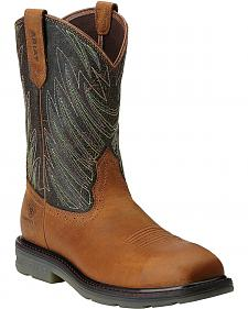 Ariat Maverick Pull-On Work Boots - Composition Toe