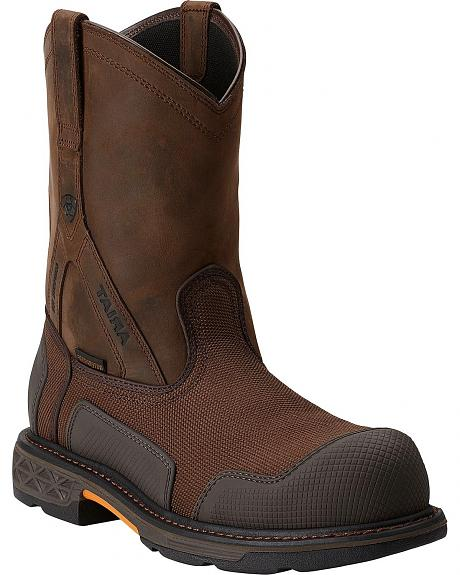 Ariat Overdrive XTR H20 Pull-On Work Boots - Composition Toe