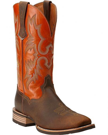 Ariat Tombstone Western Boots - Square Toe