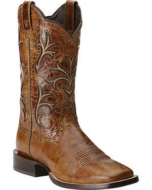 Ariat Cowboss Cowboy Boots - Square Toe