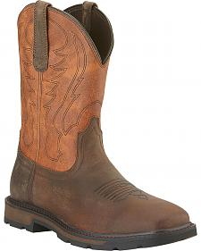 Ariat Groundbreaker Cowboy Boots - Square Toe