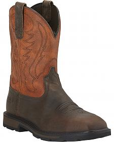 Ariat Groundbreaker Work Boots - Steel Toe