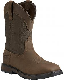 Ariat Groundbreaker Waterproof Work Boots - Steel Toe