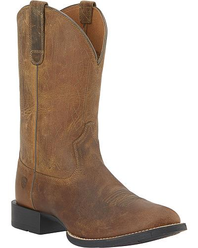Ariat Traditional Cowboy Boots Round Toe Western & Country 10015294
