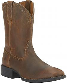 Ariat Heritage Roper Boots - Wide Square Toe