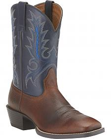 Ariat Sport Outfitter Cowboy Boots - Wide Square Toe