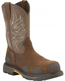 Ariat Work Overdrive Western Pull-On - Composite Toe