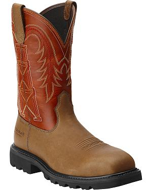 Ariat Work Wildcatter Pull-On - Composite Safety Toe