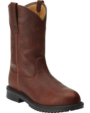 Ariat Rigtek Pull-On Work Boots - Safety Toe