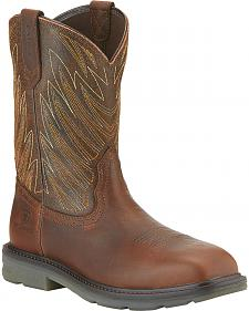Ariat Maverick Western Work Boots - Safety Toe