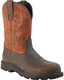 Ariat Groundbreaker Pull-On Work Boots