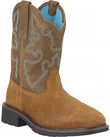 Ariat Women's Krista II Pull-On Work Boots - Steel Toe