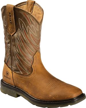 Ariat Maverick Waterproof Work Boots - Square Toe