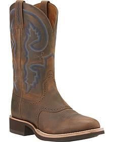 Ariat Quantum Crepe Cowboy Boots - Round Toe