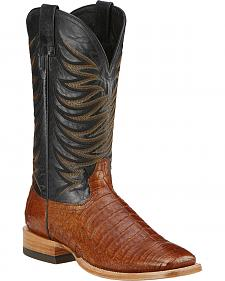 Ariat Fire Catcher Caiman Cowboy Boots - Square Toe