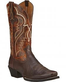 Ariat Bronc Buster Cowboy Boots - Square Toe