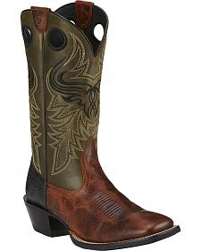 Ariat Wild Ride Cowboy Boots - Square Toe