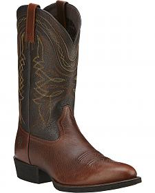 Ariat Comeback Cowboy Boots - Round Toe