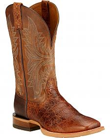 Ariat Cowhand Cowboy Boots - Square Toe