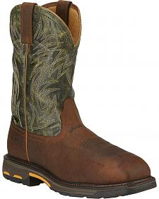 Ariat Men's Workhog Internal Met Guard Work Boots - Composite Toe