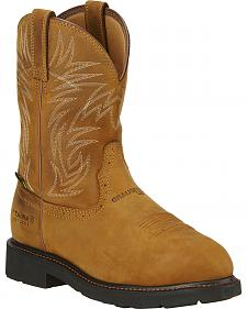 Ariat Men's Sierra West Work Boots - Steel Toe