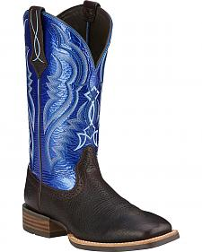 Ariat Fast Time Cowboy Boots - Square Toe