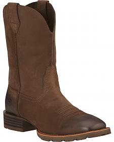 Ariat Hybrid Street Side Cowboy Boots - Square Toe