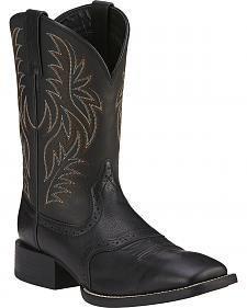 Ariat Sport Western Cowboy Boots - Wide Square Toe