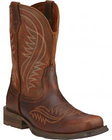 Ariat Rambler Revival Cowboy Boots - Square Toe