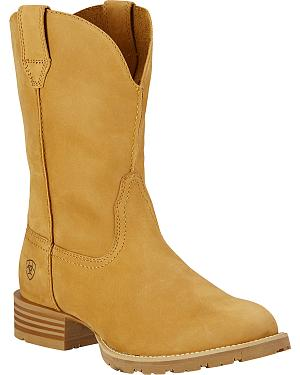Ariat Hybrid Street Side Cowboy Boots - Round Toe
