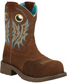 Ariat Fatbaby Cowgirl Work Boots - Composite Toe