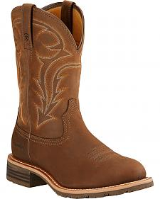 Ariat Hybrid Rancher H2O Cowboy Boots - Round Toe